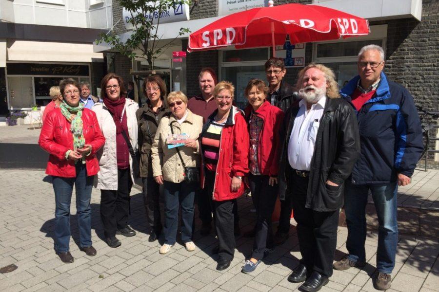 SPD Infostand am Heumarkt